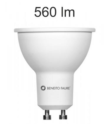 GU10 6W 220V 120 ° uniforme-ligne conduit Beneito Faure