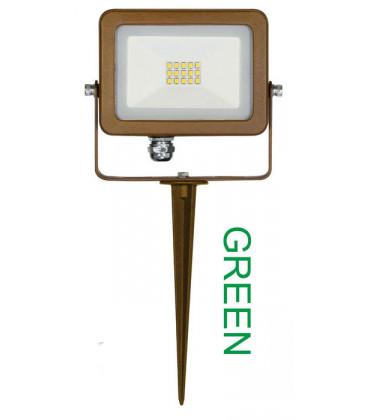 Estaca LED SKY CORTEN ALUMINIUM 10W 220-240V 110º de Beneito Faure