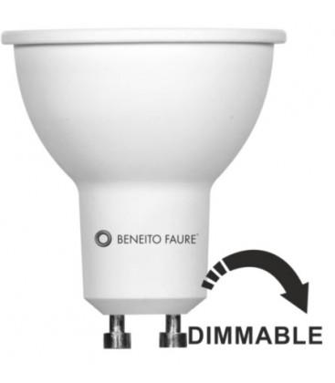 CROCHET GU10 6W 220V 60 ° dichroïque effet LED DIMMABLE Beneito Faure