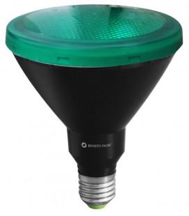 PAR 38 VERDE 15W E27 220V 30º LED de Beneito Faure