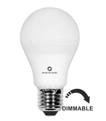 STANDARD 12W E27 220V 360º DIMMABLE LED by Beneito Faure