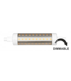 LINEAL TUBULAR 11W R7S 118mm 220-240V 360º DIMMABLE LED