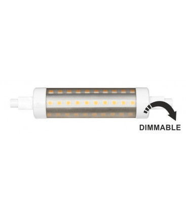 LINEAL TUBULAR 11W R7S 118MM 220V 360º DIMMABLE LED de Beneito Faure