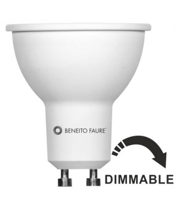 SYSTEM GU10 8W 220-240V 60º DIMMABLE LED