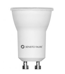 TUTTO GU10/MR16 4W 35mm 220V 60º LED de Beneito Faure