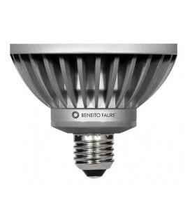 PAR 30 12W E27 220V 45º BLACK LINE LED antideslumbrante de Beneito Faure