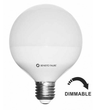 GLOBO 10W E27 220-240V 360º DIMMABLE LED