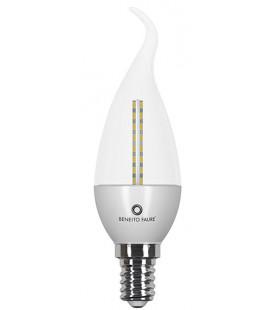 FLAMA DECO TRANSPARENT 4W E14/E27 220V 360º LED