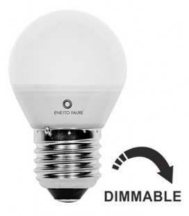 SPHERIQUE 5,5W E14/E27 220-240V 360º DIMMABLE LED