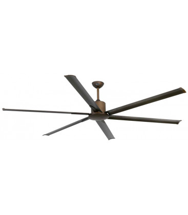 Fan without light Andros diameter 213cm 6 Palas de Faro Barcelona