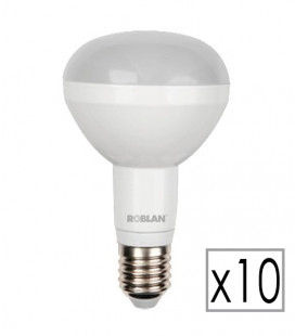 Pack 10 LED R80 10W by Roblan