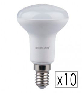 Pack 10 LED R50 6W by Roblan