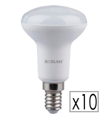 Pack 10 LED R50 6W de Roblan