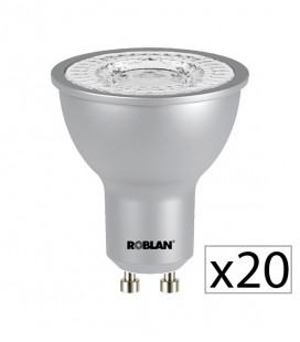 Pack 20 Dicroica LED PRO SKY 7W de Roblan