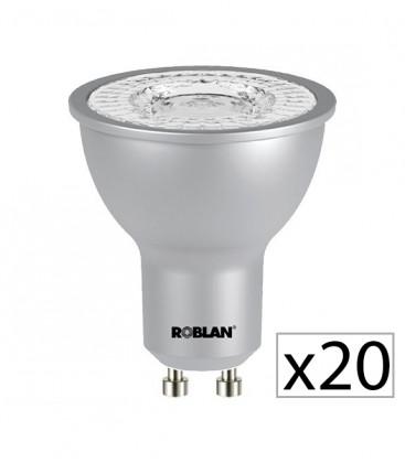 Pack 20 Dicroica LED PRO SKY 7W de Roblan