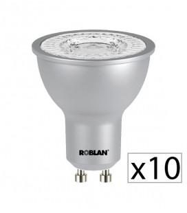 Pack 20 dichroïque LED PRO SKY 7W de Roblan