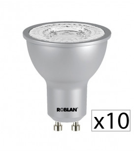 Pack 10 dicroica LED PRO SKY 7W de Roblan