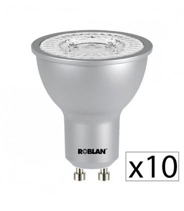 Pack 10 dicroica LED PRO SKY 7W de Roblan