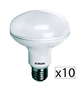 Pack 10 reflectora LED R90 15W de Roblan