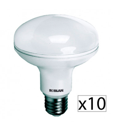 Pack 10 LED R90 15W by Roblan
