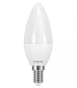 Bougie lampe LED C30 6W E14 connexion Roblan