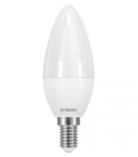 Lamp candle LED SKY C30 6W E14 connection Roblan