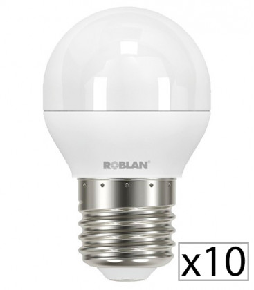 Pack 10 LED SKY A15 6W by Roblan