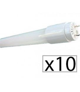 Pack de 10 tubo LED CRISTAL 60cm 9W de Roblan