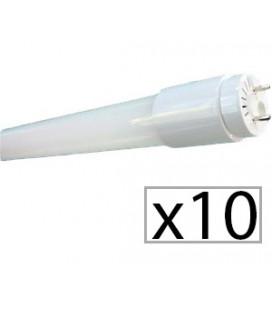 Pack de 10 tubo LED CRISTAL 150cm 22W de Roblan